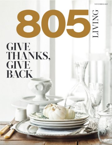 Chef Robin Goldstein 805 Living Thanksgiving Recipes Feature 1