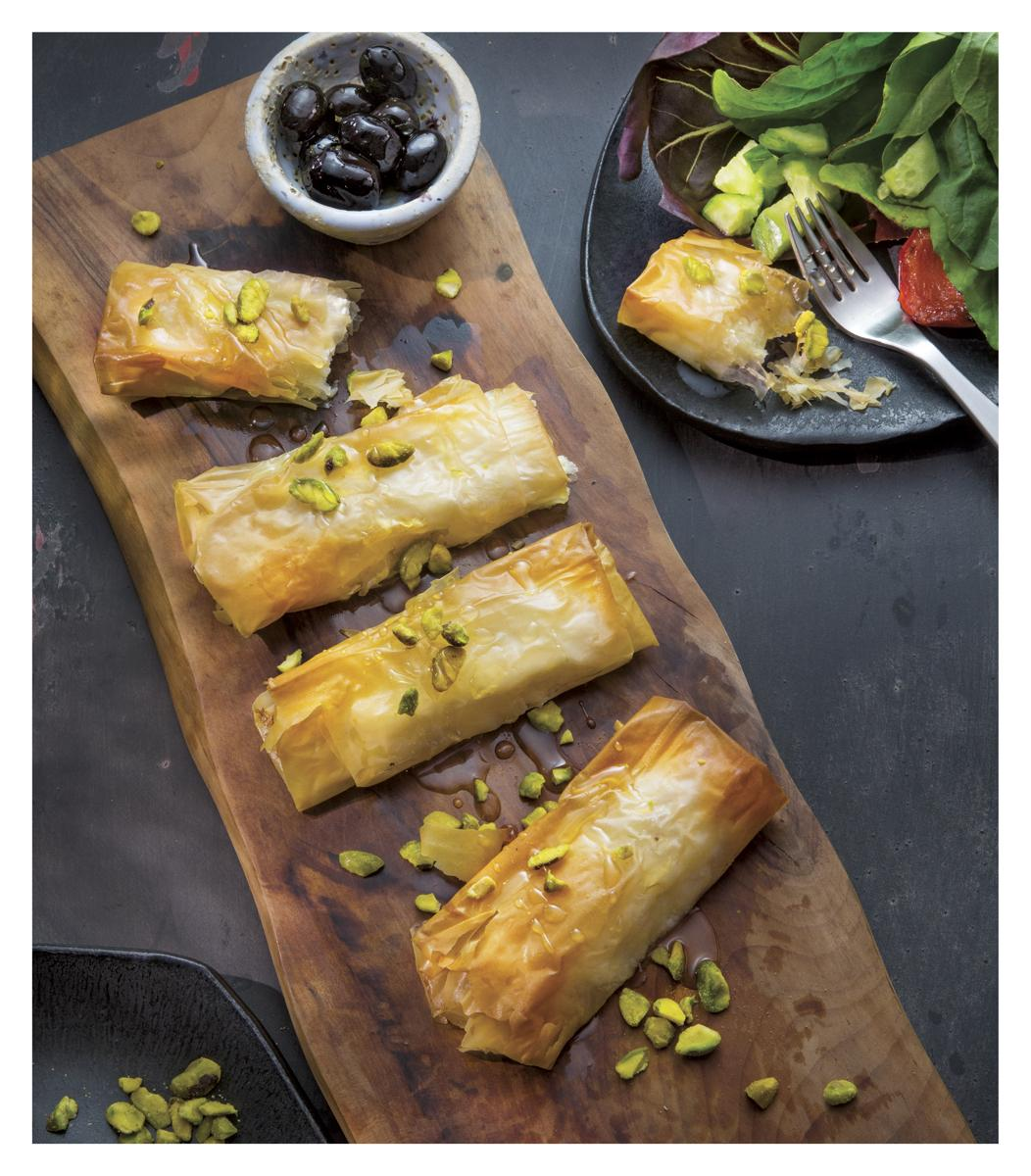 Baked Feta Cheese Parcels